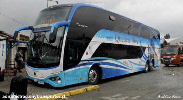 EV: Viaje Queilen Bus 119 (Busstar DD), Santiago – Castro