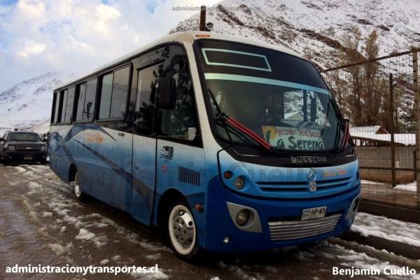 Benjamin Cuello: Buses y nieve en el Valle del Elqui