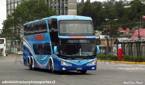 EV: Viaje en Thaebus 132 desde Temuco a Puerto Montt