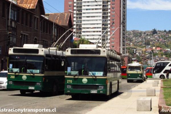 AV Valparaíso #1: De paseo en los trolebuses de Valparaíso 2017