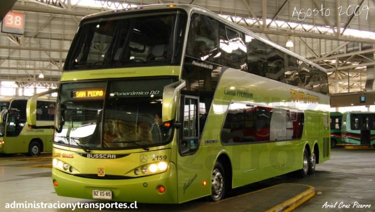 BZXS85 - Tur Bus - Panoramico DD - Busscar - San Borja