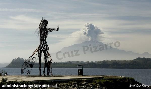 Aventura de Ariel: Ir a ver la erupción del volcán Calbuco