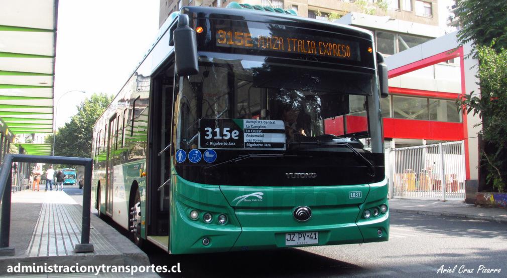 El cambio que implicarán los 200 buses eléctricos de Transantiago