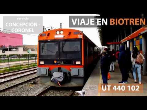 Mi primer viaje en el servicio Biotren, Concepción a Coronel