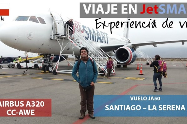 Primer vuelo en JetSmart, Santiago a La Serena