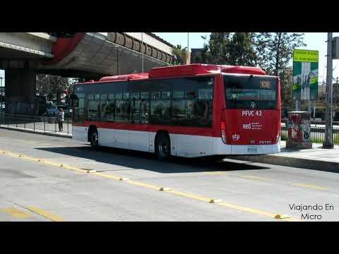 Recorrido 108 Santiago