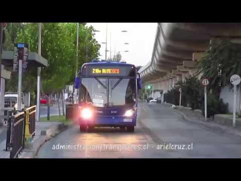 Recorrido 210v Santiago