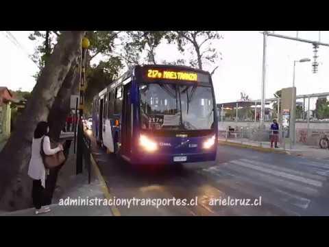 Recorrido 217e Santiago