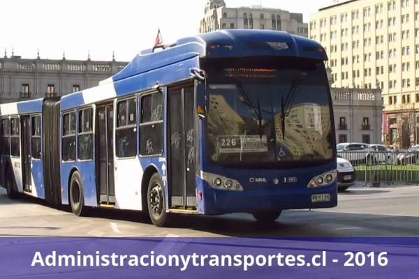 Recorrido 226 Santiago