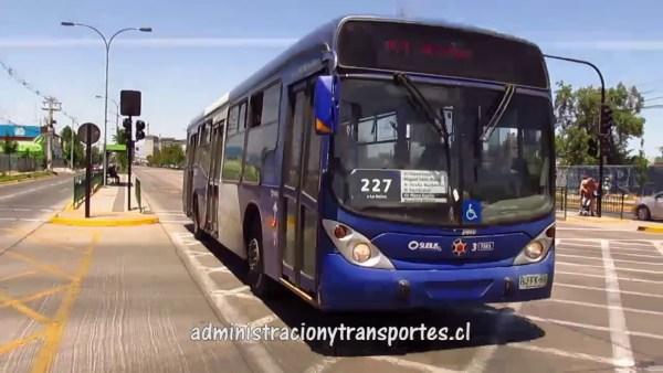 Recorrido 227 Santiago