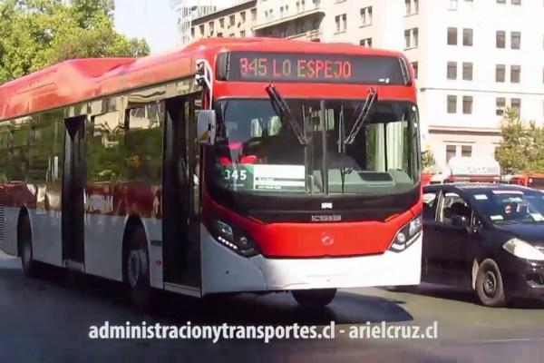 Recorrido 345 Santiago