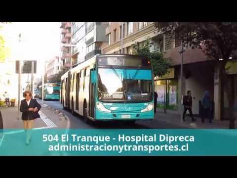 Recorrido 504 Santiago