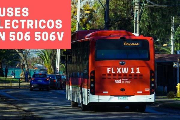Recorrido 506 Santiago