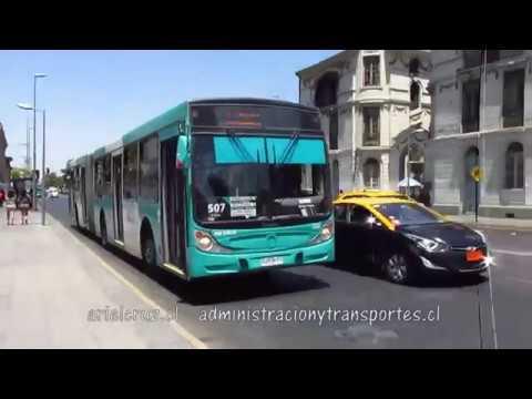 Recorrido 507 Santiago