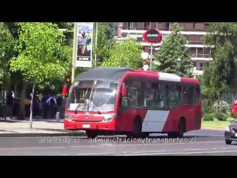 Recorrido C01 Santiago