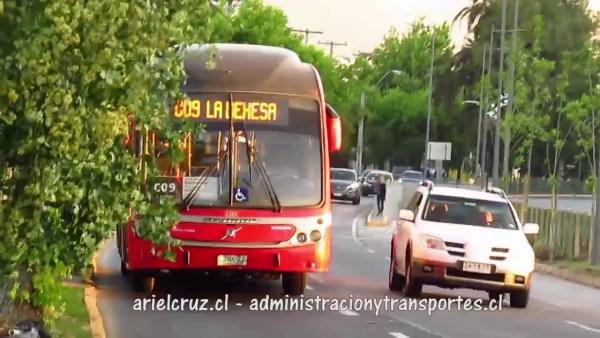 Recorrido C09 Santiago