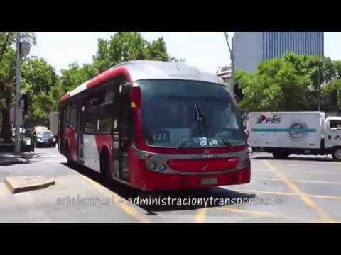 Recorrido C22 Santiago