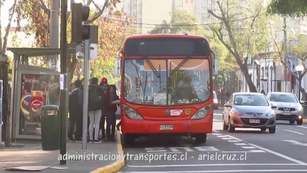 Recorrido D18 Santiago