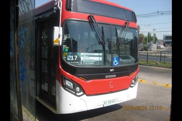 Recorrido E17 Santiago