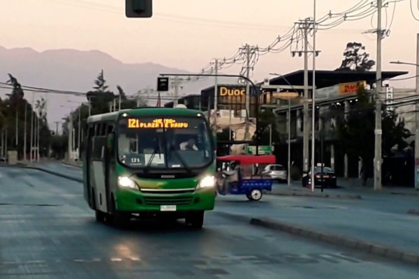 Recorrido I21 Santiago
