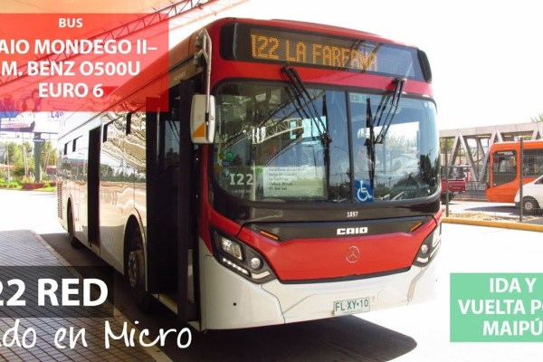 Recorrido I22 Santiago