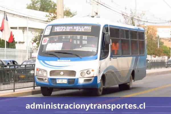 Recorrido Metrobus MB72