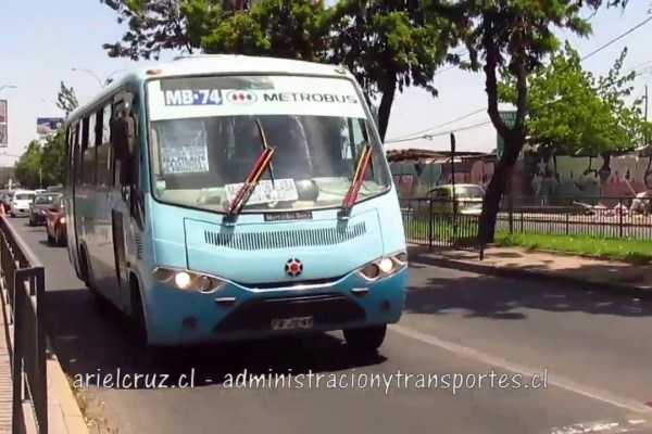 Recorrido Metrobus MB74