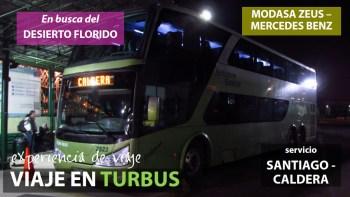 Viaje en Tur Bus desde Santiago a Caldera, Desierto Florido