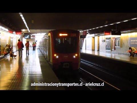 [Video] Llegada del servicio corto a Metro Pajaritos en Línea 1