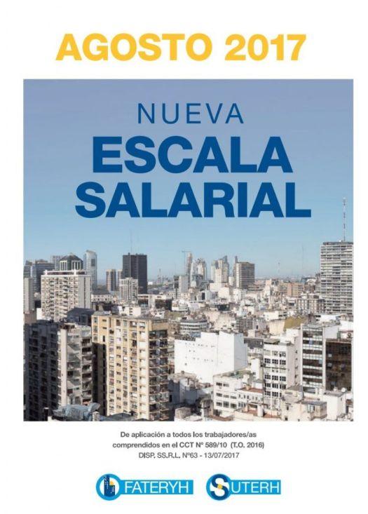 Escala Salarial Agosto 2017