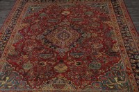 Antique Gold-Washed Handmade Kashmar Persian Area Rug ...