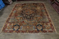 Antique Historical Handmade Kashmar Persian Area Rug ...