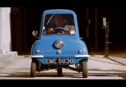 Driving The Smallest Car In The World