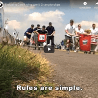 Shopping cart racing world championship