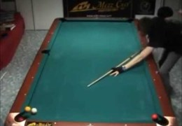 Amazing pool trickshots