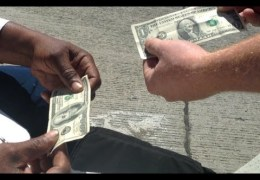 Money magic trick