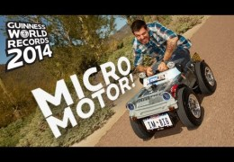 Smallest Car – Guinness World Records 2014