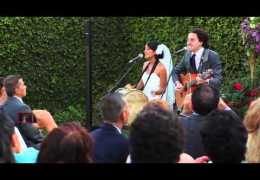 """No Matter Where You Are"" – Us The Duo (Live Wedding Perfor"