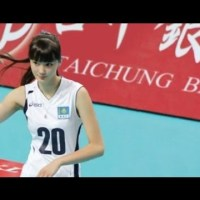 Sabina Altynbekova, Beautiful Asian Women Volleyball Player Kazakhstan U19