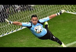 Best Goalkeeper Saves World Cup 2014 ● Ochoa, Navas, M'Bolhi, Howard and Bravo