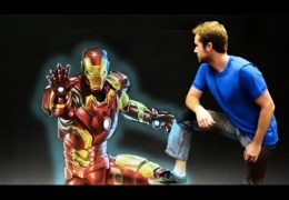 Iron Man's Armor – 3D Chalk Art Animation