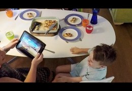 Technology has hijacked family dinnertime