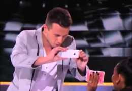 The winner of America's Got Talent 2015 Mat Franco Magician
