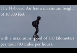 World Record Hoverboard flight! With Flyboard Air