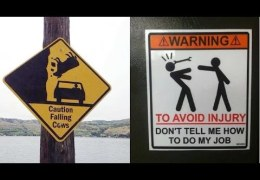Funny Warning Signs around the world