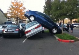 Top 10 Funniest Parking Fails COMPILATION! – [2014]