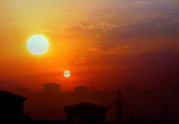 Two Suns In One Sky Trending Video on WeatherChannel