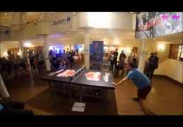 Table Tennis Using Head
