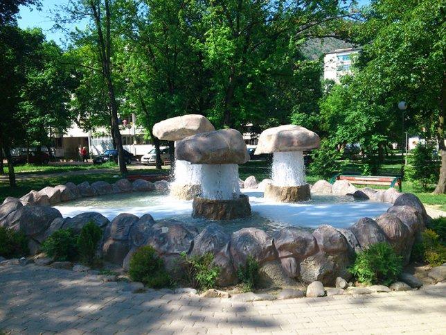 Концептуална Фонтана Кисела Вода Парк Македонија 1