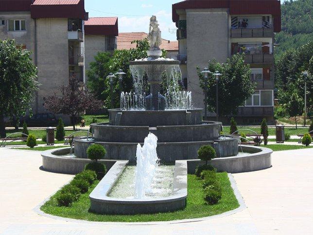 Концептуална Фонтана Македонска Каменица Плоштад Македонија 1